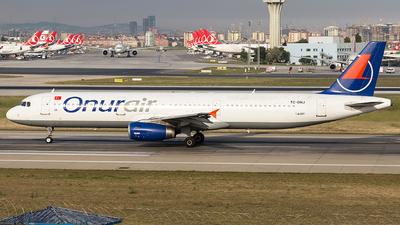 TC-ONJ - Airbus A321-131 - Onur Air