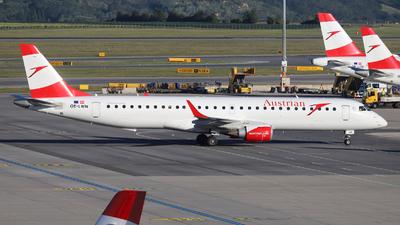 A picture of OELWN - Embraer E195LR - Austrian Airlines - © László Kurilla