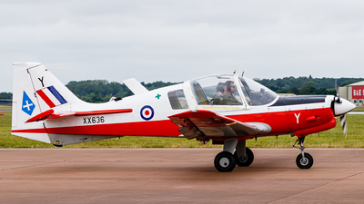 XX636 - Scottish Aviation Bulldog T.1 - United Kingdom - Royal Air Force (RAF)