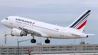 A picture of FGUGN - Airbus A318111 - Air France - © Loredana Cioclei