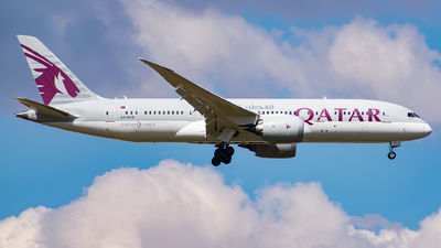 A picture of A7BCS - Boeing 7878 Dreamliner - Qatar Airways - © John Leivaditis