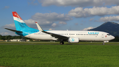 LX-LGU - Boeing 737-8C9 - Luxair - Luxembourg Airlines