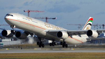 A6-EHK - Airbus A340-642X - Etihad Airways