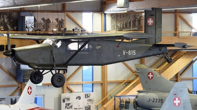 V-615 - Pilatus PC-6/350 Porter - Switzerland - Air Force
