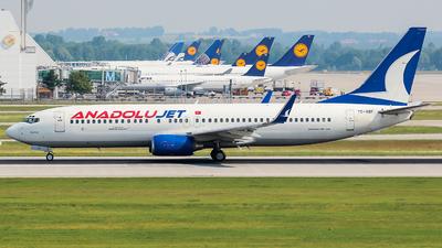 TC-SBF - Boeing 737-86Q - AnadoluJet