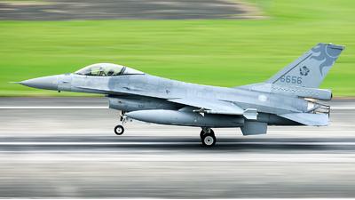 6656 - General Dynamics F-16A Fighting Falcon - Taiwan - Air Force