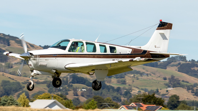ZK-PVA - Beechcraft A36 Bonanza - Private