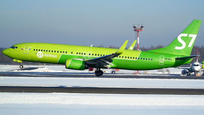 A picture of VQBVL - Boeing 7378GJ - S7 Airlines - © Timofey Panteleev