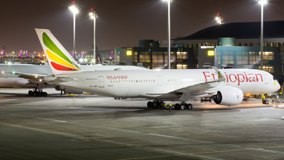 A picture of ETAWP - Airbus A350941 - Ethiopian Airlines - © Abdurahman N.