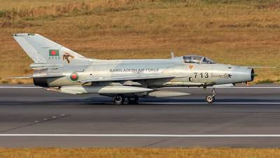 2713 - Chengdu F-7BGI - Bangladesh - Air Force