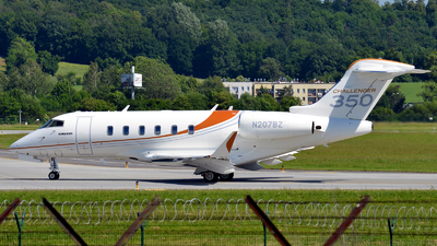 N207BZ - Bombardier BD-100-1A10 Challenger 350 - Private