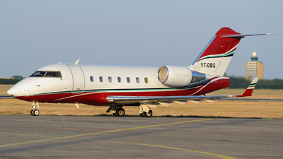 VT-DBG - Bombardier CL-600-2B16 Challenger 604 - Private