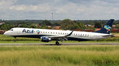 A picture of PRAYJ - Embraer E195AR - Azul Linhas Aereas - © Alexandro Dias