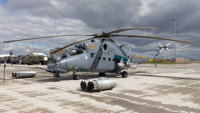 03 - Mil Mi-35M Hind - Kazakhstan - Air Force