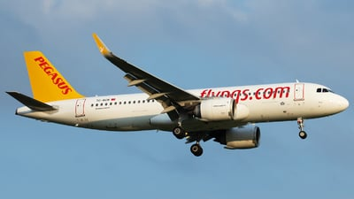 A picture of TCNCN - Airbus A320251N - Pegasus Airlines - © Alexander Schürmann