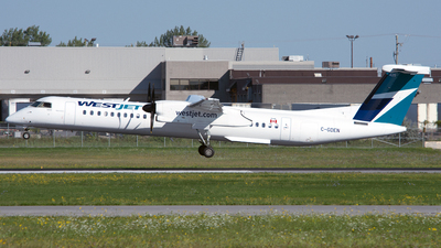 C-GDEN - Bombardier Dash 8-Q402 - WestJet Encore