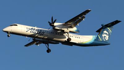 A picture of N445QX - De Havilland Canada Dash 8400 - Alaska Airlines - © Huy Do
