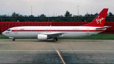G-UKLB - Boeing 737-4Y0 - Virgin Atlantic Airways