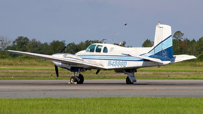 N4386D - Beechcraft E50 Twin Bonanza - Private