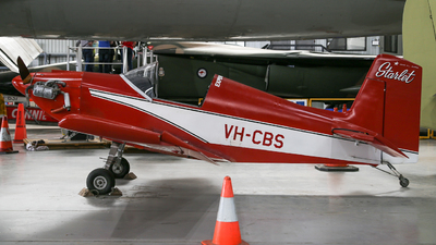VH-CBS - Corby Kestrel CM2 - Private