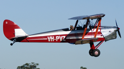 VH-PVZ - De Havilland DH-82A Tiger Moth - Private