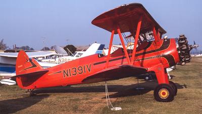 N1391V - Boeing E75 Stearman - Private
