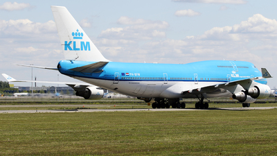 A picture of PHBFW - Boeing 747406(M) - KLM - © Jeroen Stroes