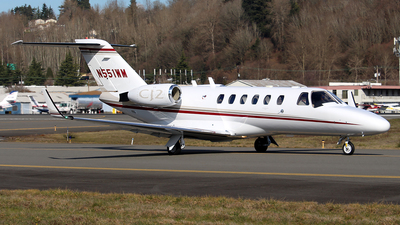 N551WM - Cessna 525A CitationJet 2 - Private