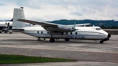 TG-AZE - Handley Page Dart Herald 214 - Aerovias