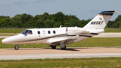 N85BT - Cessna 525 CitationJet M2 - Private