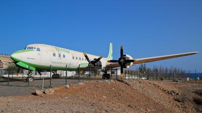 EC-BBT - Douglas DC-7C Seven Seas - Binter Canarias