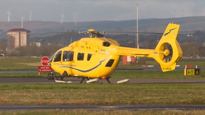 G-SASS - Airbus Helicopters H145 - Bond Air Services