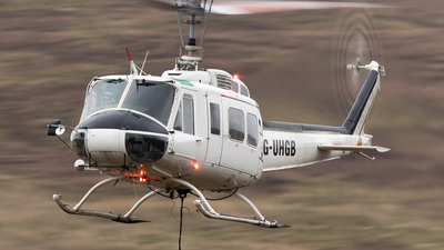 G-UHGB - Bell 205A-1 - Helilift Services.