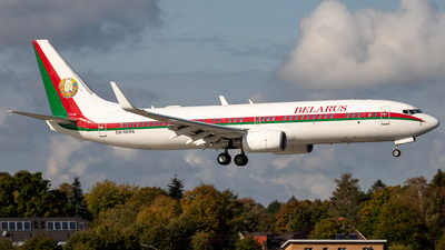 EW-001PA - Boeing 737-8EV(BBJ2) - Belarus - Air Force