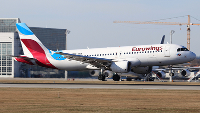 D-AEUE - Airbus A320-214 - Eurowings