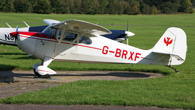 G-BRXF - Aeronca 11AC Chief - Private