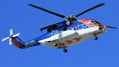 A picture of LNOQD - Sikorsky S92A - CHC Helikopter Service - © Witold Ozimek