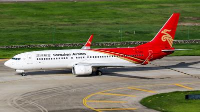 B-5411 - Boeing 737-87L - Shenzhen Airlines