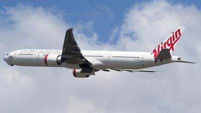A picture of VHVPF - Boeing 7773ZG(ER) - Virgin Australia - © AznHentaiSpotter
