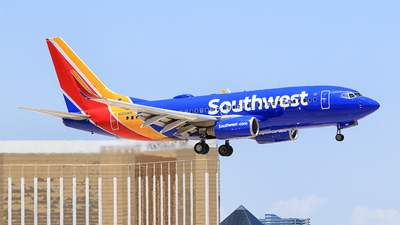 N418WN - Boeing 737-7H4 - Southwest Airlines
