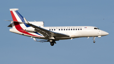 86 - Dassault Falcon 7X - France - Air Force