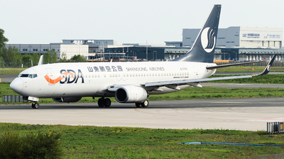 A picture of B5118 - Boeing 73785N - Shandong Airlines - © King Wang