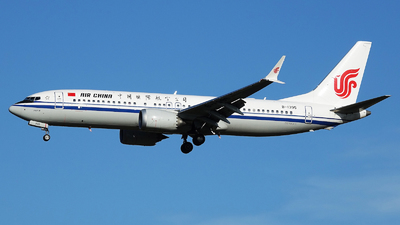 B-1395 - Boeing 737-8 MAX - Air China