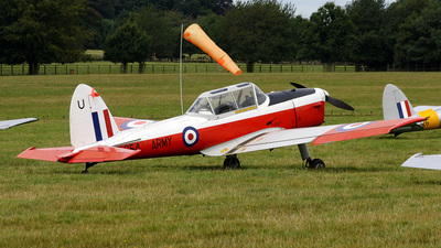 A picture of GBXGO - De Havilland Canada DHC1 Chipmunk - [C1/0097] - © Terry Figg