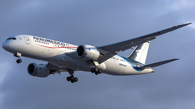 A picture of N965AM - Boeing 7878 Dreamliner - Aeromexico - © CityHopper