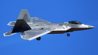 04-4066 - Lockheed Martin F-22A Raptor - United States - US Air Force (USAF)