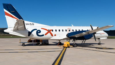 VH-ZLQ - Saab 340B+ - Regional Express (REX)
