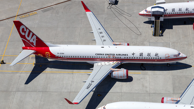 B-209H - Boeing 737-89P - China United Airlines