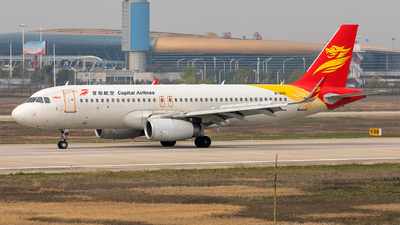 A picture of B1691 - Airbus A320232 - Capital Airlines - © Ji donghao