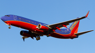 A picture of N8637A - Boeing 7378H4 - Southwest Airlines - © Conor Clancy